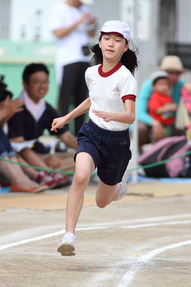 6年生女子 持久走大会(2年1年6年5年) - 磐田市立福田小学校